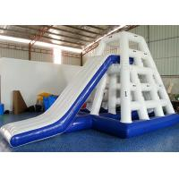 Safety Inflatable Water Games Inflatable Jungle Rock Silk Screen Printing