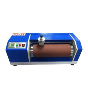 China 150mm Rubber Iso 4649 Abrasion Test Rubber Shoe Soles Friction on sale