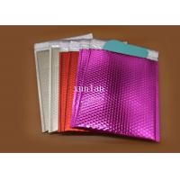 Multicolor Recyclable Shipping Bubble Mailers Offset Printing For Posting Tape