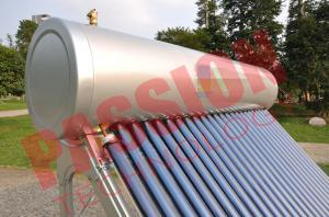 China Pvc Pipe Solar Water Heater Glass Tubes , Home Solar Water Heating Systems on sale