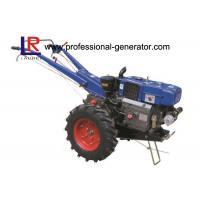 High Capability Farm Machinery 12HP Mini Hand Walking Tractor , Reaper Plough Mower Optional