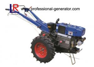 China High Capability Farm Machinery 12HP Mini Hand Walking Tractor , Reaper Plough Mower Optional on sale