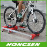 Execise colorful alloy bike roller trainers for fitness in home