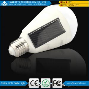 China HaMi LED light New Designed Solar Panel Light Bulb LED Powered Light,Portable Waterproof Emergency Light on sale