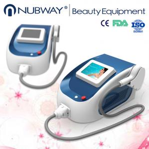 China Portable mini Strong Power!!! 808nm Diode Laser Hair Removal Machine With CE on sale