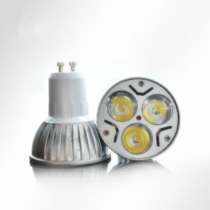 China AC 100V - 240V 3W GU10 LED Spot lights Aluminum Shell Waterproof on sale