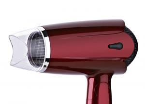China Red Lightweight Ionic Hair Dryer , Travel Blow Dryer With Diffuser 0.1275cbm / Ctn Volume on sale