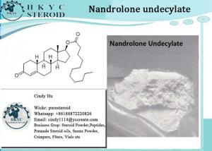China Raw Steroid Hormone Powder Nandrolone Undecylate For Muscle Building Supplement on sale