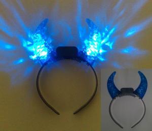 China O diodo emissor de luz azul do OEM ilumina o Headwear acima de piscamento para ChildrenFestival, fogos-de-artifício, bolas on sale