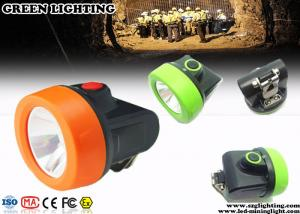 China 110 luzes sem corda do capacete de segurança da mineração do estilo de Lum com luzes de carregamento da indicação on sale