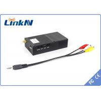 Video Audio COFDM Transmitter With AV 3.5mm Interface , Two Way Voice Communication