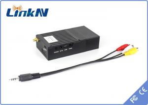 China Video Audio COFDM Transmitter With AV 3.5mm Interface , Two Way Voice Communication on sale