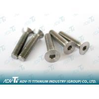 DIN 7991 titanium Hexagon socket countersunk head screw Titanium Fastener