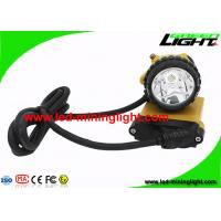 Explosion Proof Mining Cap Lights 25000 Lux Highest Lumens For Opening Pit