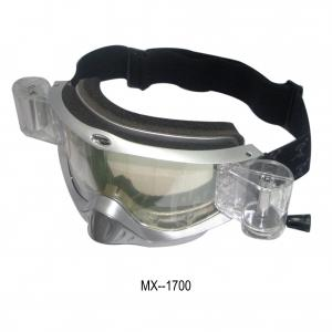 China Custom Motocross Goggles / Snow Goggles With Anti-Fog Single Pc Lens on sale