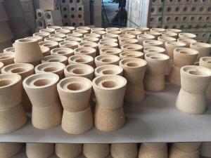 Quality Special Shape Bottom Pour Runner Bricks For Ingot Steel Casting Industry / for sale