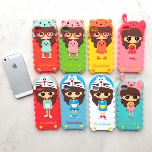 131d0392a822 ... Quality Iphone 5 Protective Case Silicone Case Korea Cute Little Bush  Design for sale ...