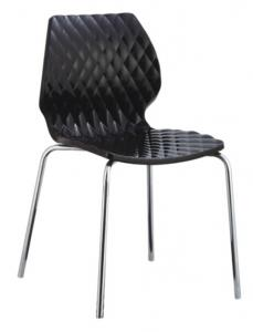 China Cheap Wholesale Plastic Chair, Metal with Chrome Legs Restaurant Chair, PP Chair on sale