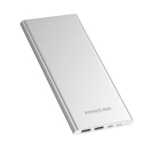 China Slim External Battery Micro USB Quick Charge Power Bank With Dual Input Output on sale