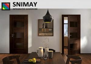 Quality Luxury Drawing Room Door Internal Wooden Doors Dark Wood Bedroom Furniture For Sale