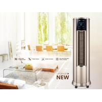 LowNoise Warm Air Conditioner , Hot Air Vertical Fan Heater With LCD Touch Switch