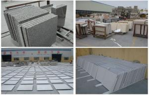 China Customized Natural granite tiles / slabs for indoor outdoor project on sale