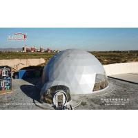 Elegant 20m Diameter Geodesic Dome Tent for Restaurant from Liri Tent