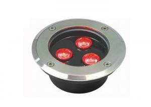 China Optical Lens RGB LED Ground Lights Full Single Color Remote Internal Control on sale