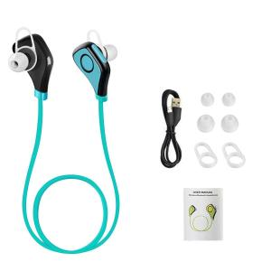 China Blue In Ear Headphones Wireless Bluetooth Stereo Earbuds 57.8*14.4*8.9mm on sale
