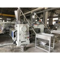 China Rigid PVC Foam Plate Manufacturing Extrusion Line on sale