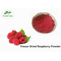 China Natural Raspberry Freeze Dried Fruit Powder For Slimming Weight on sale