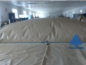 China Fuushan Commercial Potable Folding PVC Farming Water Tank Level Sensor on sale