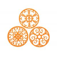 China Silicone Trivet Set For Hot Dishes | Modern Kitchen Hot Pads For Pots & Pans on sale
