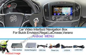 China WIFI / TMC Car Multimedia Navigation System For Buick 800 * 480 on sale