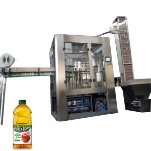 China Small Aseptic Juice Beverage Filling Machine For 30 - 90 Mm Diameter Bottle on sale