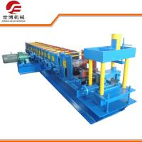 Automatic C Purlin Forming Machine , Quick Change Steel Sheet Roll Forming Machine