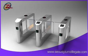 China Stainless Steel Gate Swing Barrier Access Control For Bank Entrance on sale
