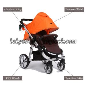 China Baby buggy with car seat, Aluminum alloy baby buggy for sale on sale