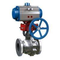 OEM Industrial Control Valves Flange connection RF FF simple Structure