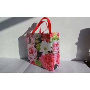 China Self Adhesive Non Woven Reusable Bags / Laminated Non Woven Bag on sale