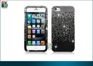 China Tough and Durable Sparkly Rhinestone Case, 3D Bling Iphone Cases for Iphone 5 OEM on sale