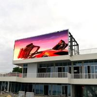 Good visual effect digital commercial p10 led big outdoor advertising screen