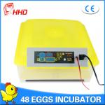 China HHD Brand Factory Supply Full Automatic Chicken Egg Incubator/Poultry Hatchery for Sale YZ8-48 wholesale