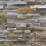 Pink/Grey Quartzite Ledge Stone, Rock Face Culture Stone Wall Cladding CZW-19