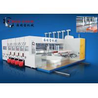 Automatic Flexo Printer Slotter Carton Machine Electric Driven For Carton Box