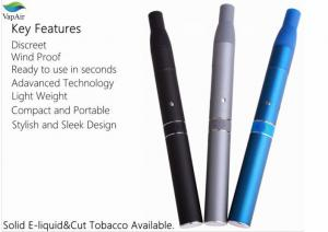China Pen Style Dry Herb Vaporizer AGO E Cigarette With LCD Display supplier