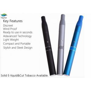 China Pen Style Dry Herb Vaporizer AGO E Cigarette With LCD Display on sale