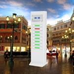 Restaurant CellPhone USB Phone Charging Station Kiosk High Technology Design