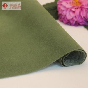57 58 Width Velvet Jewelry Box Liner Fabric Spunlace Flocked
