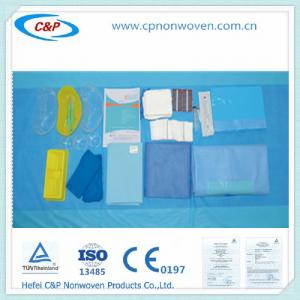 China Disposable Nonwoven Surgical Kit Medical Set Hand  packs with CE,ISO certification on sale
